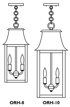 ORH-10 Orpington Pendant Light