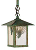 ESH-7PF Stem Hung Pendant - Pine Filigree