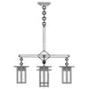 GCH-6L/4-1 5 Lt Chandelier-Long Body