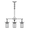 GCH-6L/4 4 Lt Chandelier-Long Body