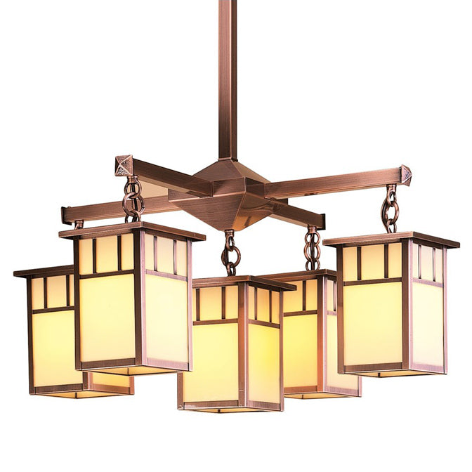 HCH-4L/4-1A 5 Lt Chandelier-Arch Ovly