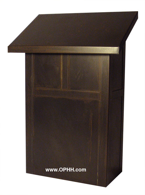 Arroyo Craftsman MMB Mission Vertical Mailbox