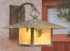 MB-12PF Wall Mount Light-Pine Filigree