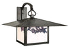 MB-17SF Wall Mount Light-Sycamore Filigree