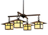 MCH-12/4SF Chandelier-Sycamore Filigree