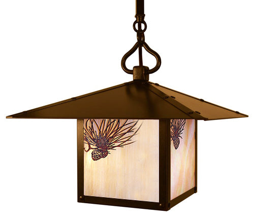 MSH-17PF Stem Hung Pendant-Pine Filigree