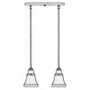 RICH-2 In-Line Chandelier