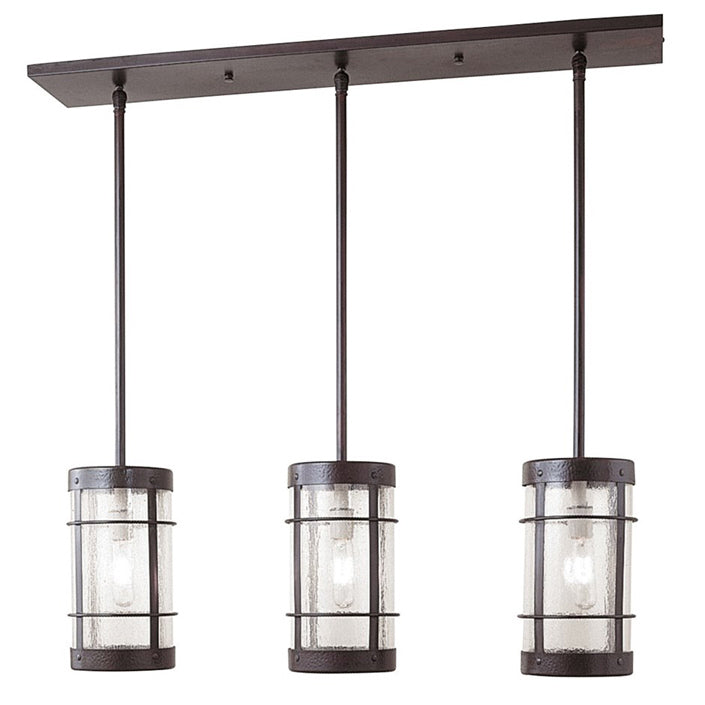 VICH-7NR/3 In-Line Chandelier