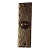 Hammered Style with Nails - Copper Door Chime and Hammered Bell Button Package