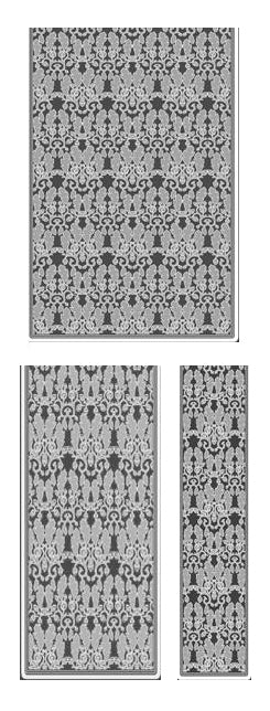 OAK & ACORN Lace Curtain by C. F. A. Voysey