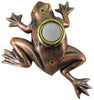 Bronze Plated Frog Doorbell