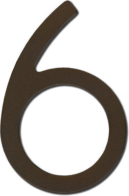 Stainless Steel - 8 Inch - Number 6
