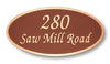 Elegant Oval - Address - Small
