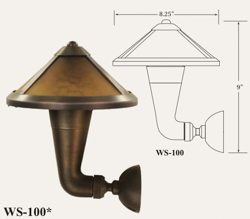 WS-100 Wall Sconce Light-LED