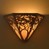 Tree Pattern Wall Sconce