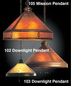ML-103 17 Inch Downlight Pendant