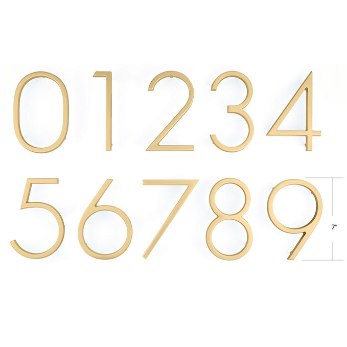 2831 7 Inch Modern House Number 1