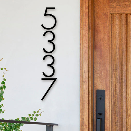 2835 7 Inch Modern House Number 5