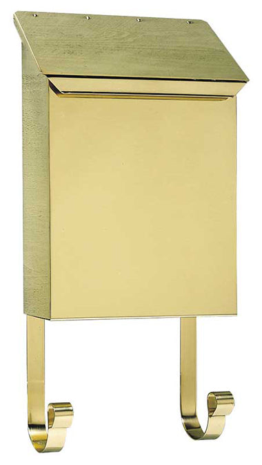 Provincial Vertical Mailbox Polished Brass
