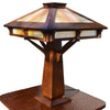 Riverside Table Lamp - Iridescent Glass