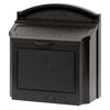 Whitehall Wall Locking Mailbox-Black-No Numbers