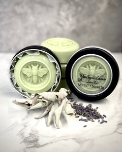 White Sage & Lavender Lotion Bar