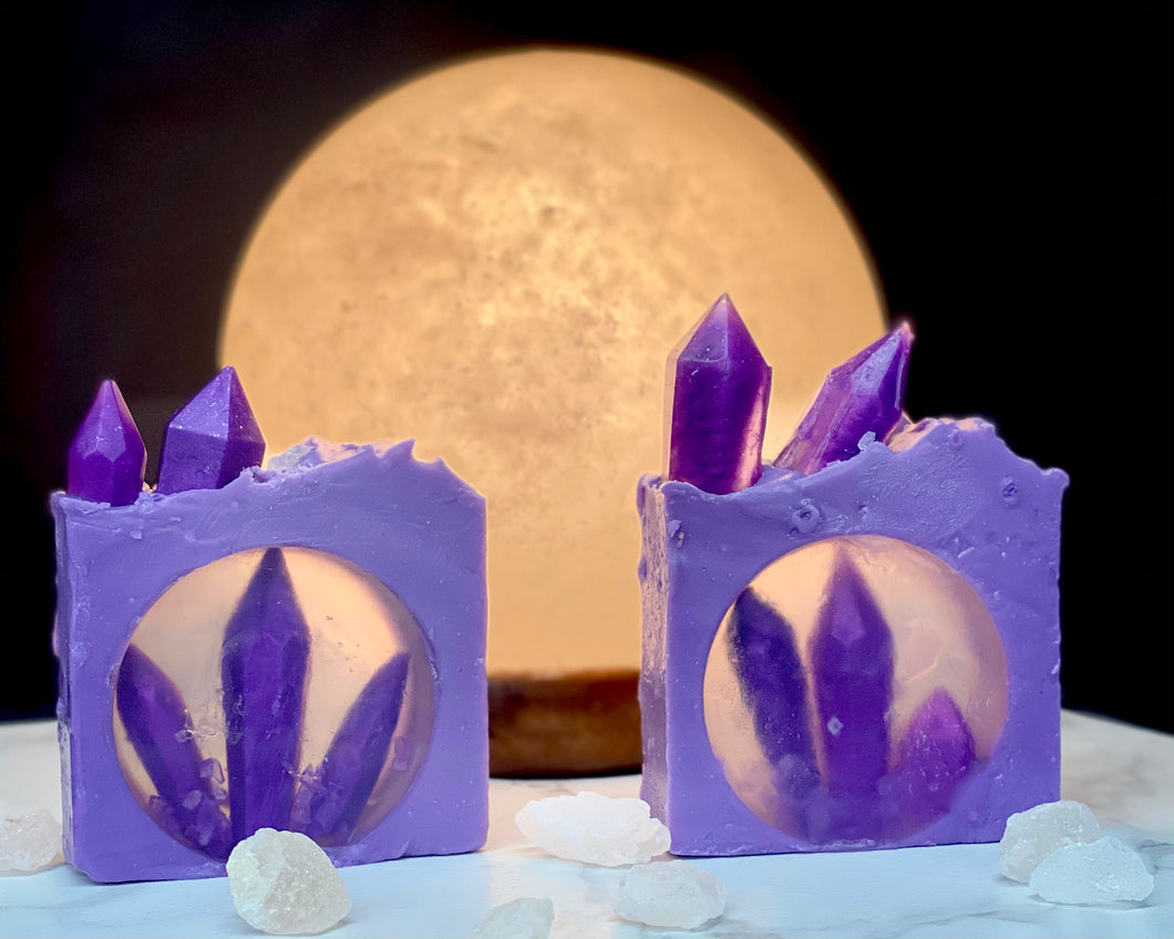 Lovely Amethyst Body Soap