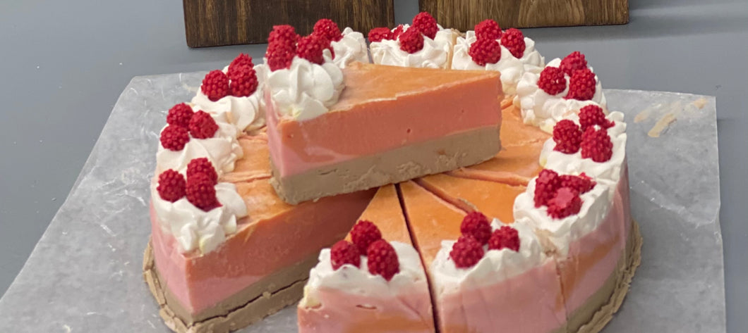 Raspberry Cheesecake Body Soap - Cured 2/8/21