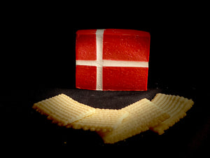 Danish Flag Body Soap