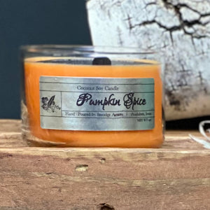 Pumpkin Spice 4oz Mini Tumbler Candle