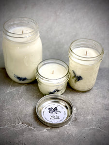 White Sage and Lavender Soy Candle 3oz