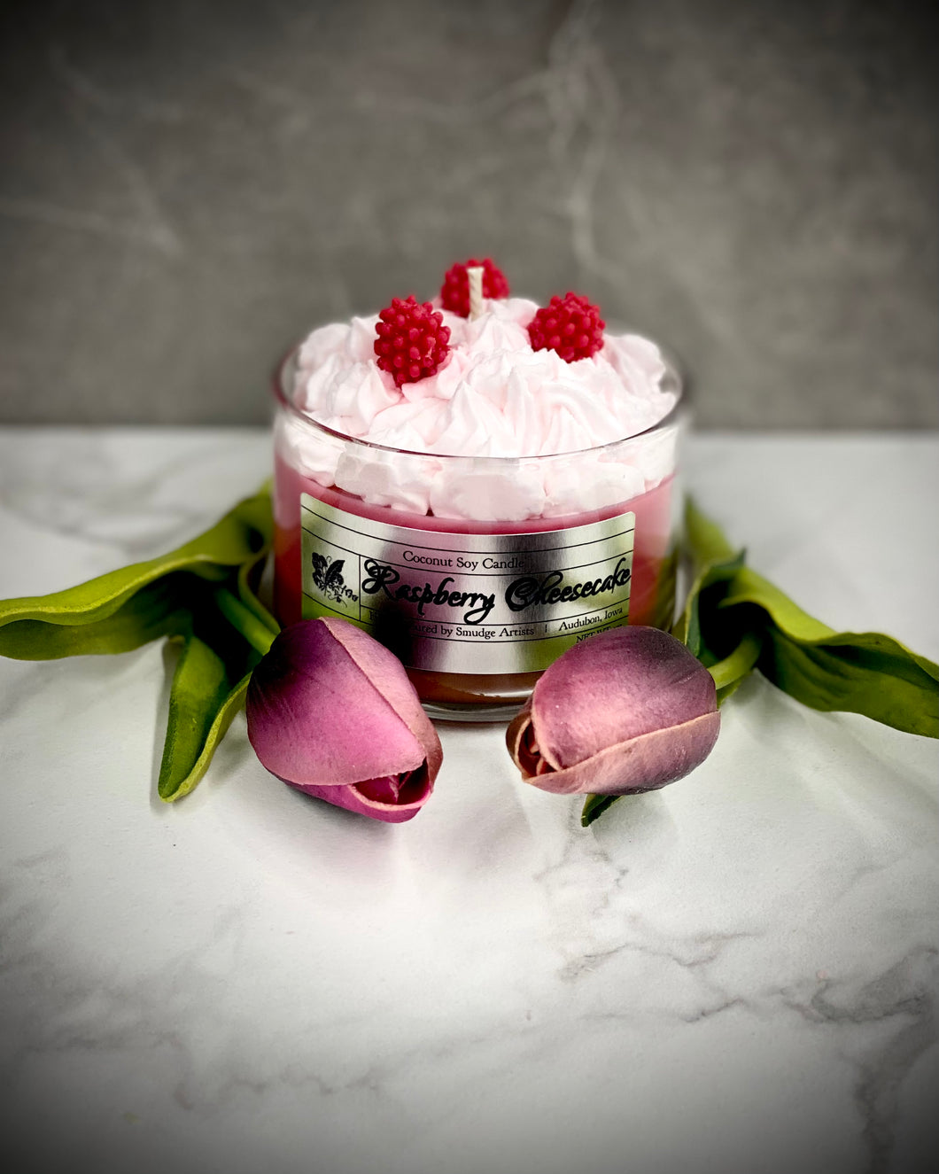 Raspberry Cheesecake Mini Tumbler Candle 4oz
