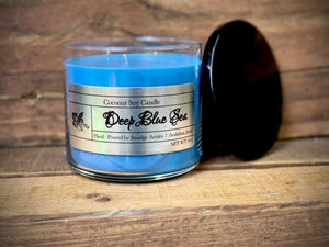 Deep Blue Sea 3 Wick Tumbler 16oz Candle