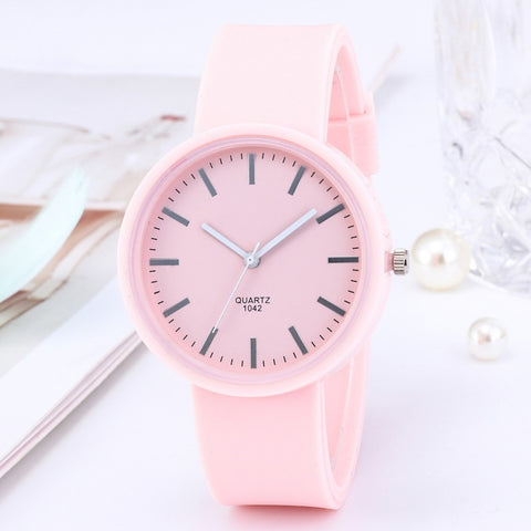 2020 Ins Trend Candy Color Wrist Watch Korean Silicone Jelly Watch New Fashion Women's Watches Reloj Mujer Clock Gifts for Women