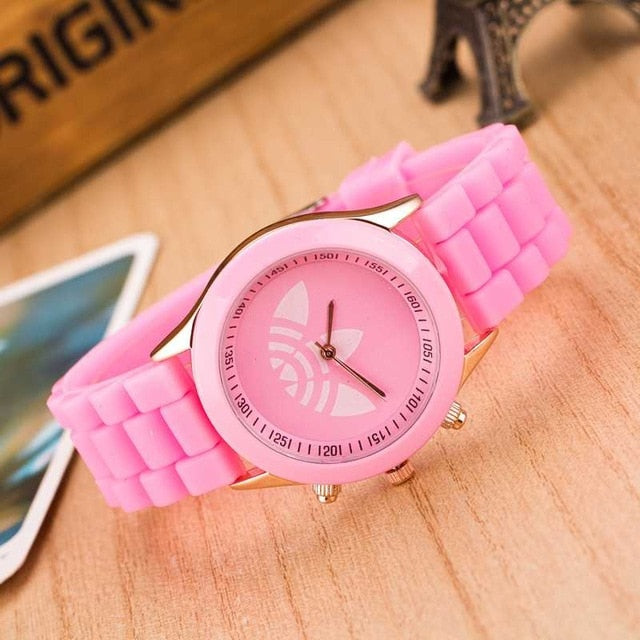 Fashion Sports Brand Quartz Watch Men and Casual Silicone Women Watches Children's gift Boy girl watches dropshippin