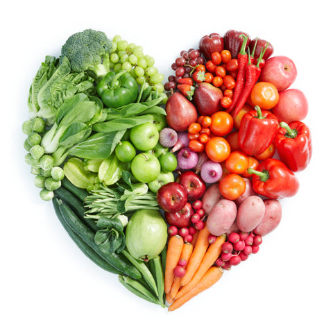 Eat clean with fruit and vegtables