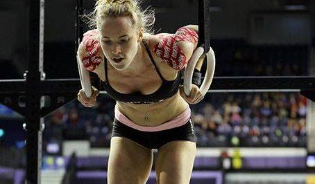 Rocktape used by Crossfit athletes