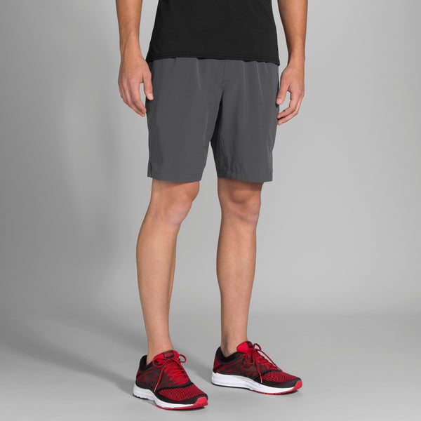 Men's Brooks Fremont Running Shorts Charcoal Grey