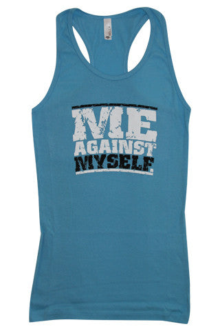Me Against Myself Tank Top - Love and Sweat Athletic Wear  - 2