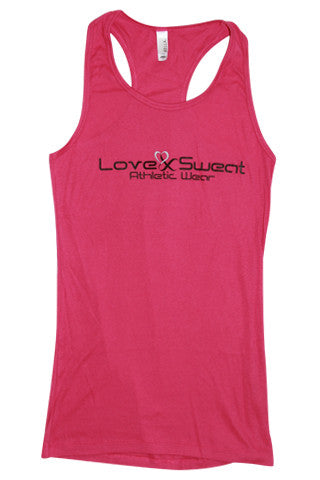 Love and Sweat Solid Tank Top - Love and Sweat Athletic Wear  - 1