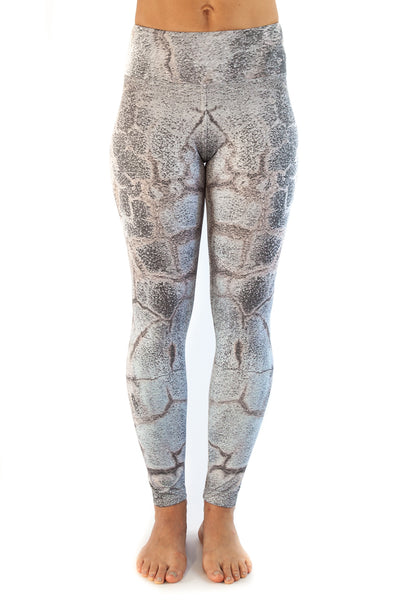 Inspire Printed Capri Pants- Cracked Up