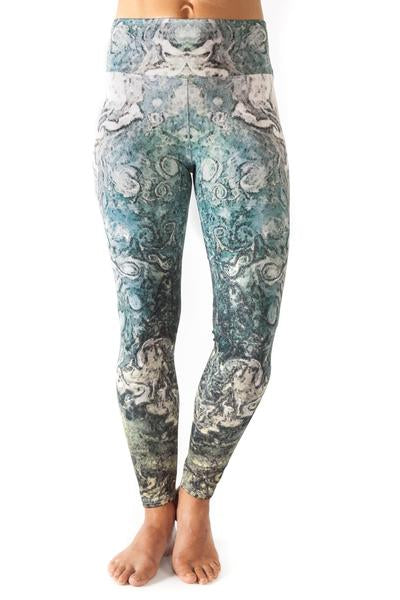 Inspire Printed Leggings- Jupiter