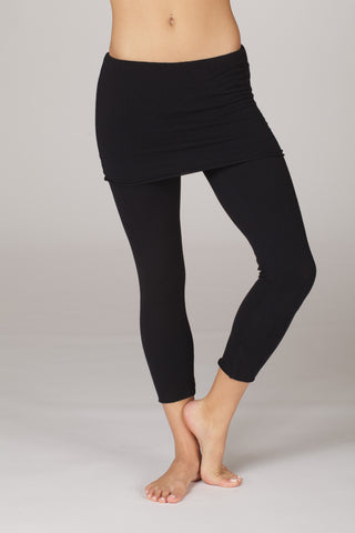 LVR Organic Cotton Skirted Capris