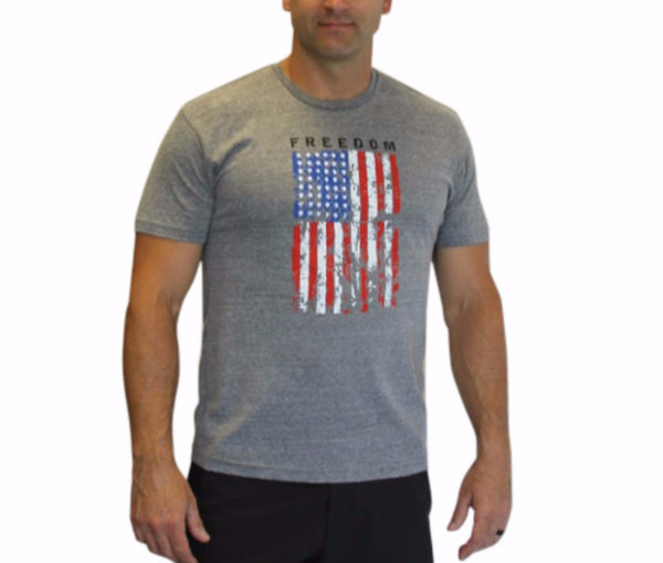 American Flag Hero WOD T'Shirt