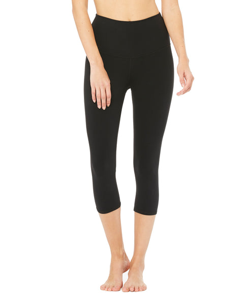 ALO High-Waist Airbrush Capri