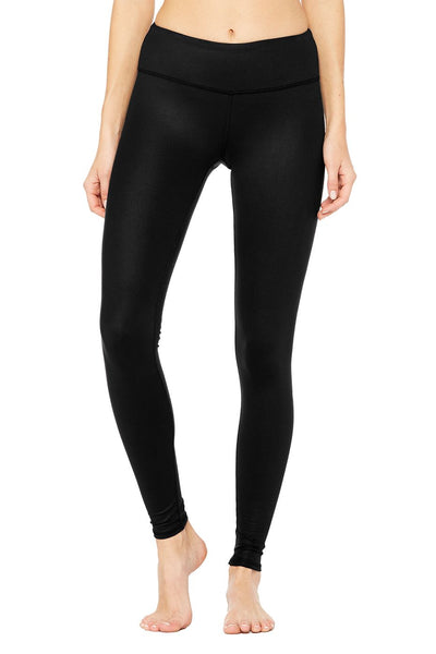 ALO Airbrush Glossy Leggings