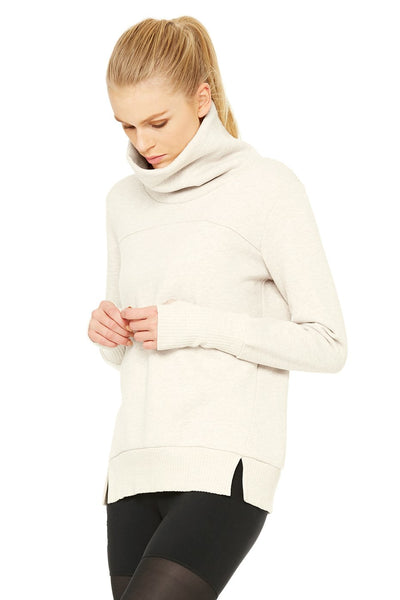 ALO Haze Long Sleeve Top with Soft Fleece Lining