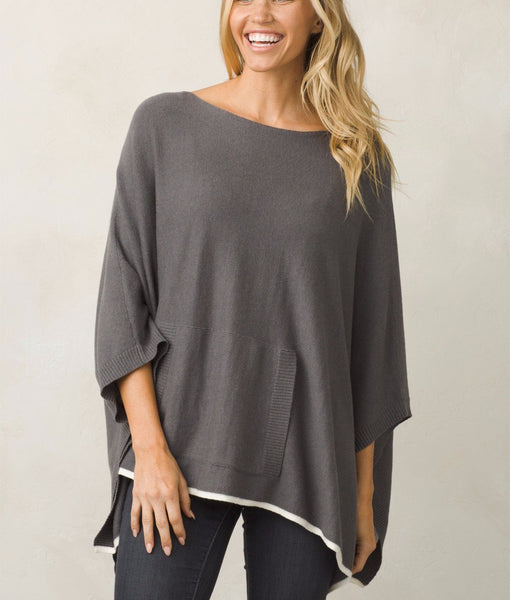 Womens ponchos cashmere cotton blend Prana