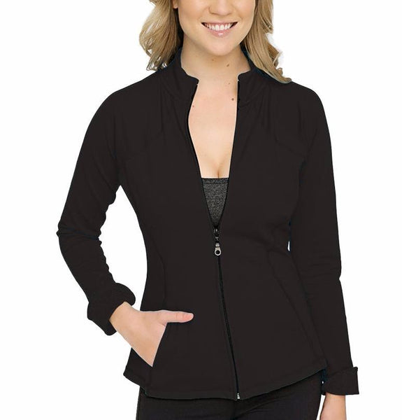Rese Black Workout Jacket
