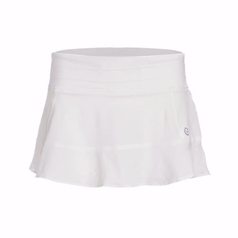 Tasc Rhythm Tennis Skirt White